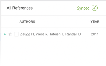 4. Add to Mendeley library